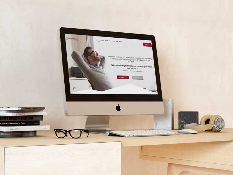 Diseño Web PaperWork